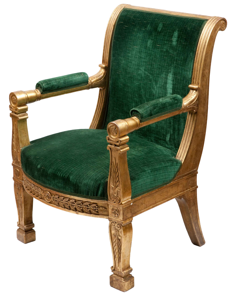 Vintage Chair Png image #40521