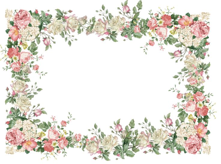 Vintage flower frame png #30420 - Free Icons and PNG Backgrounds