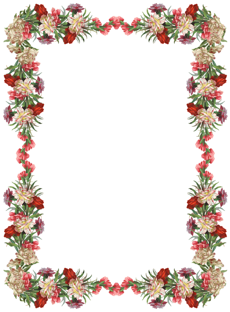 Vintage Border Png Available In Different Size image #33536