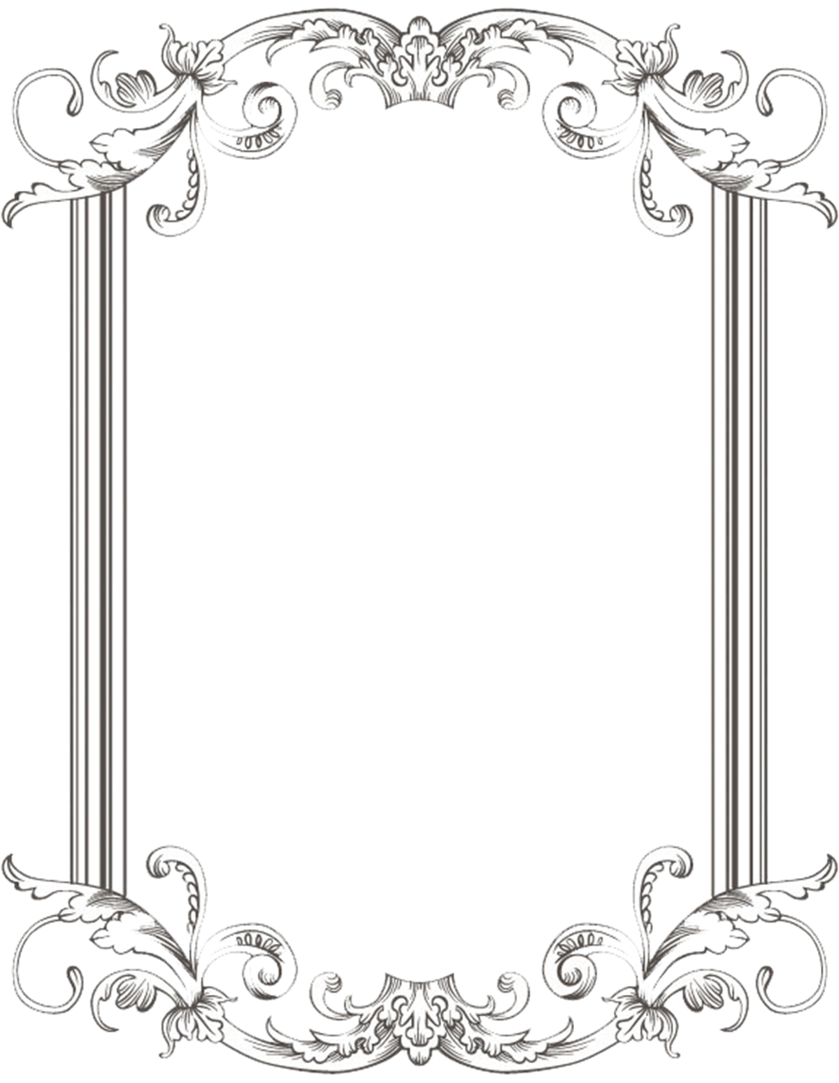 Vintage Frame Transparent PNG Pictures