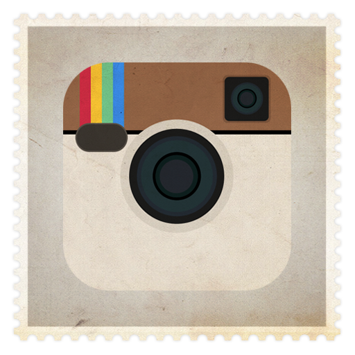 vintage instagram icon png