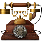 vintage phone icon png