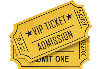 Vip Ticket Admission Png Transparent