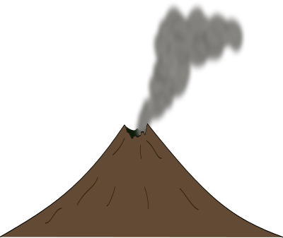 Png Format Images Of Volcano image #33643
