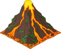 High Resolution Volcano Png Icon image #33656