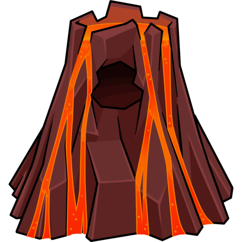 Vector Png Volcano image #33659