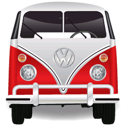 Volkswagen Bulli Bus Icon Png Transparent Background Free Download Freeiconspng