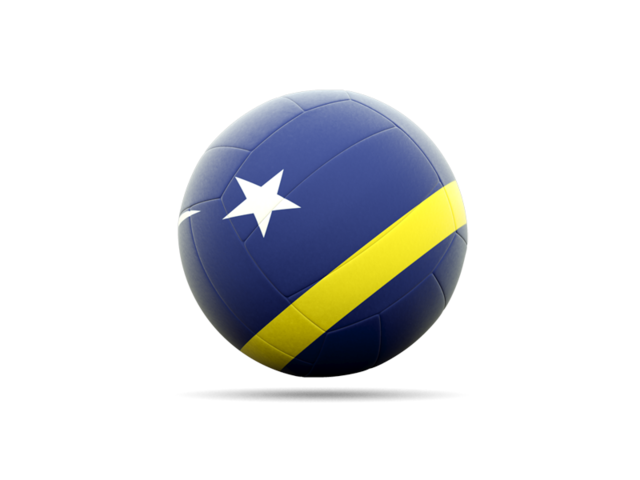 Volleyball Flag Icon Of Curacao image #3265