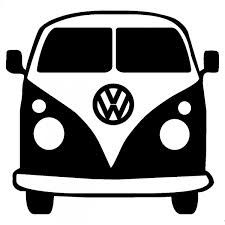 Vw Camper Van Silhouette Icon image #13543