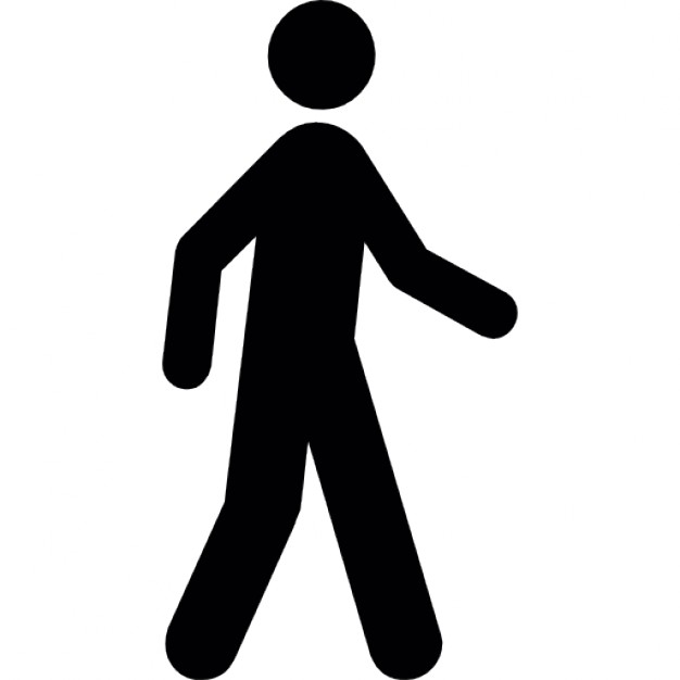 Walking Icon Svg image #7389