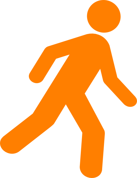 Walking Free Svg image #7394