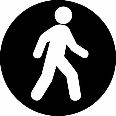 Png Walking Icon image #7380