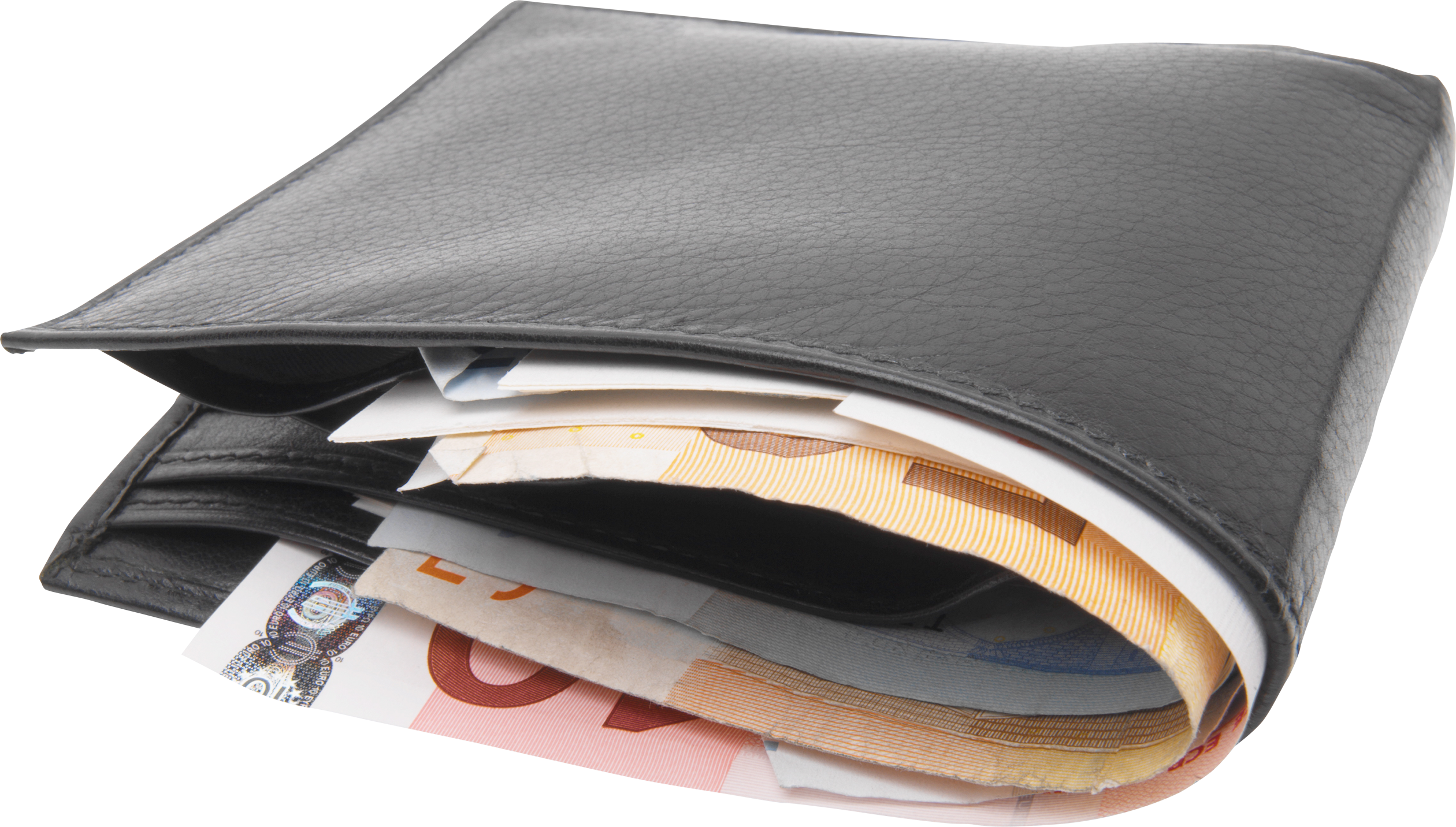 Wallet With Money PNG image #42765