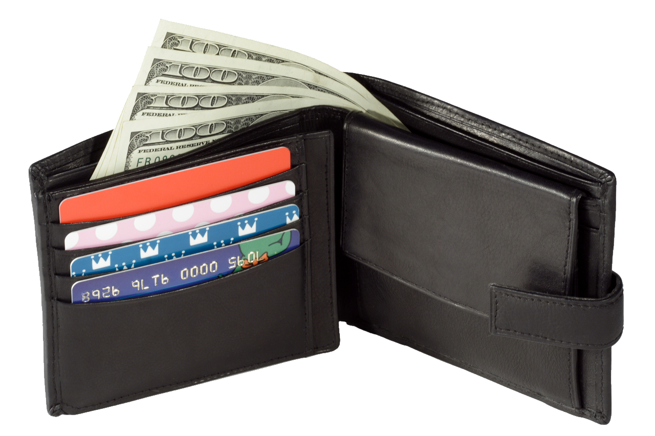 Wallet With Money PNG Image image #42764