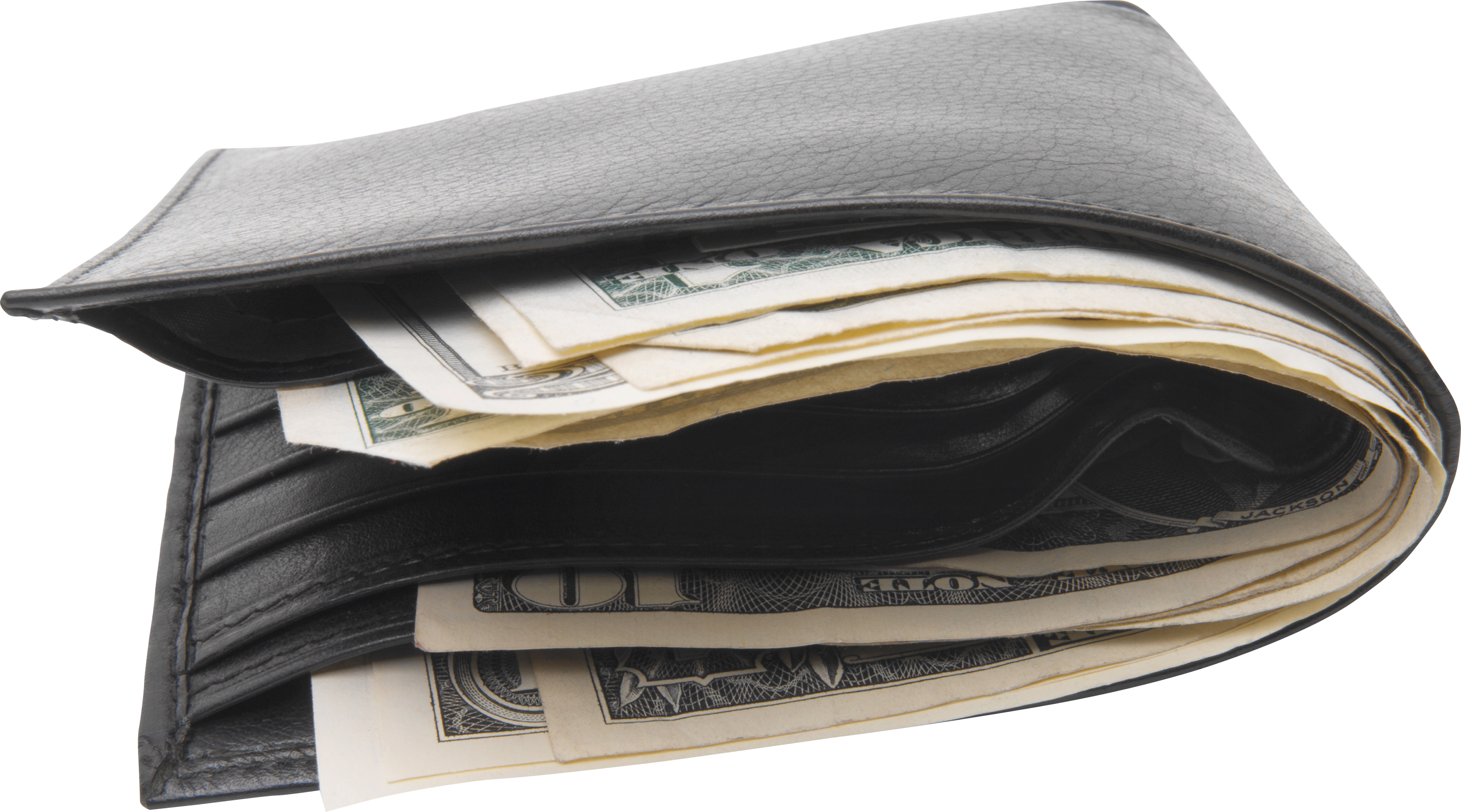 Wallet With Money PNG Image image #42767