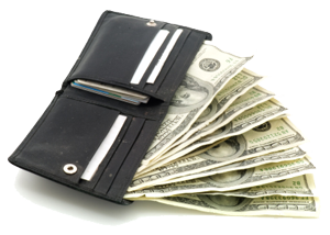 Wallet With Money Transparent Png image #42778