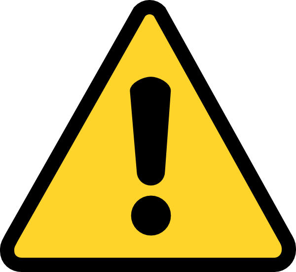 Warning Icon Image Free