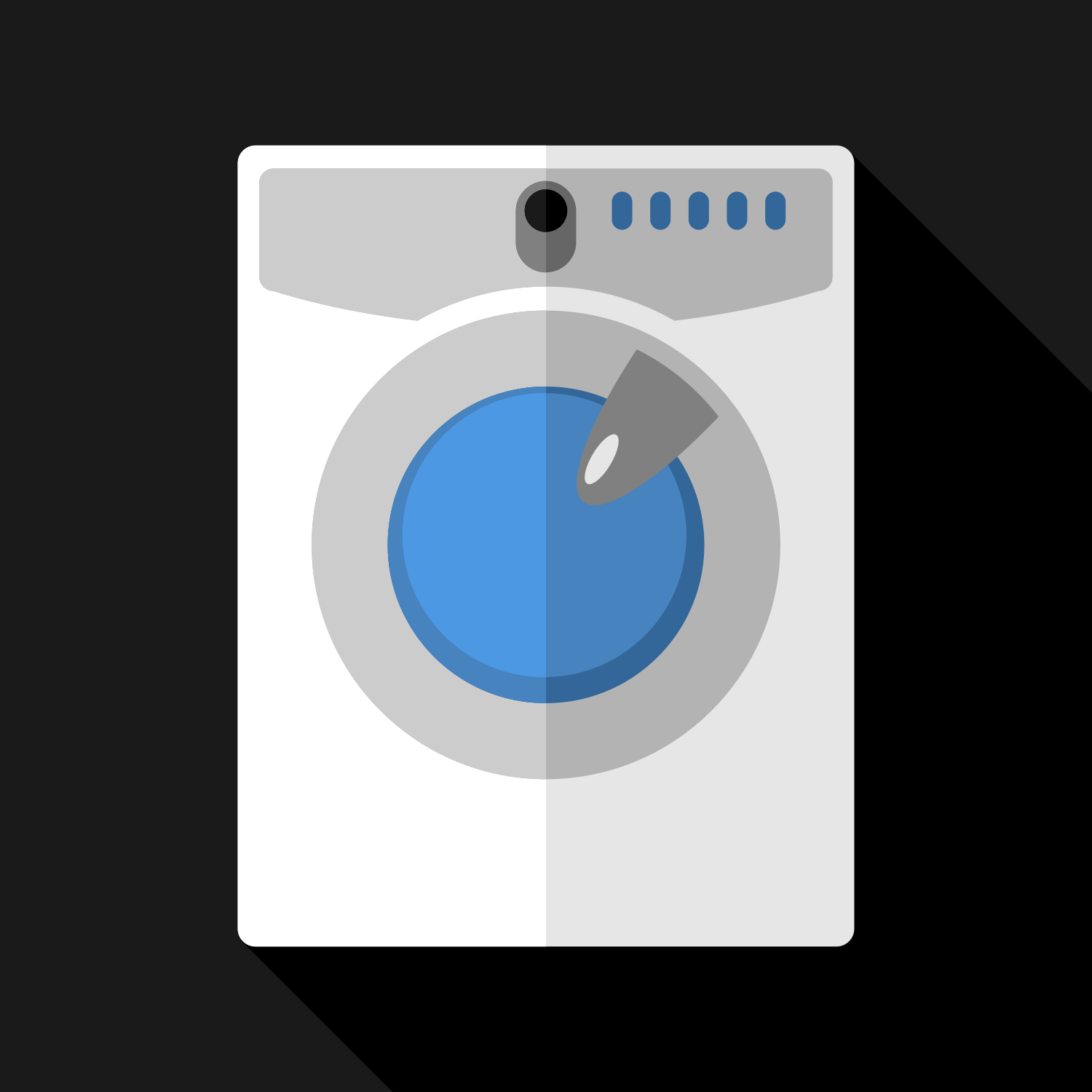 Free Icon Washing Machine Download Vectors