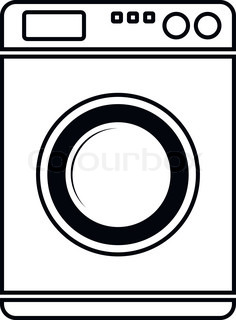 Washing Machine Free Download Icon Vectors image #9549
