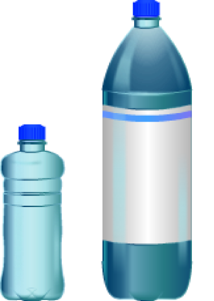 water bottles png
