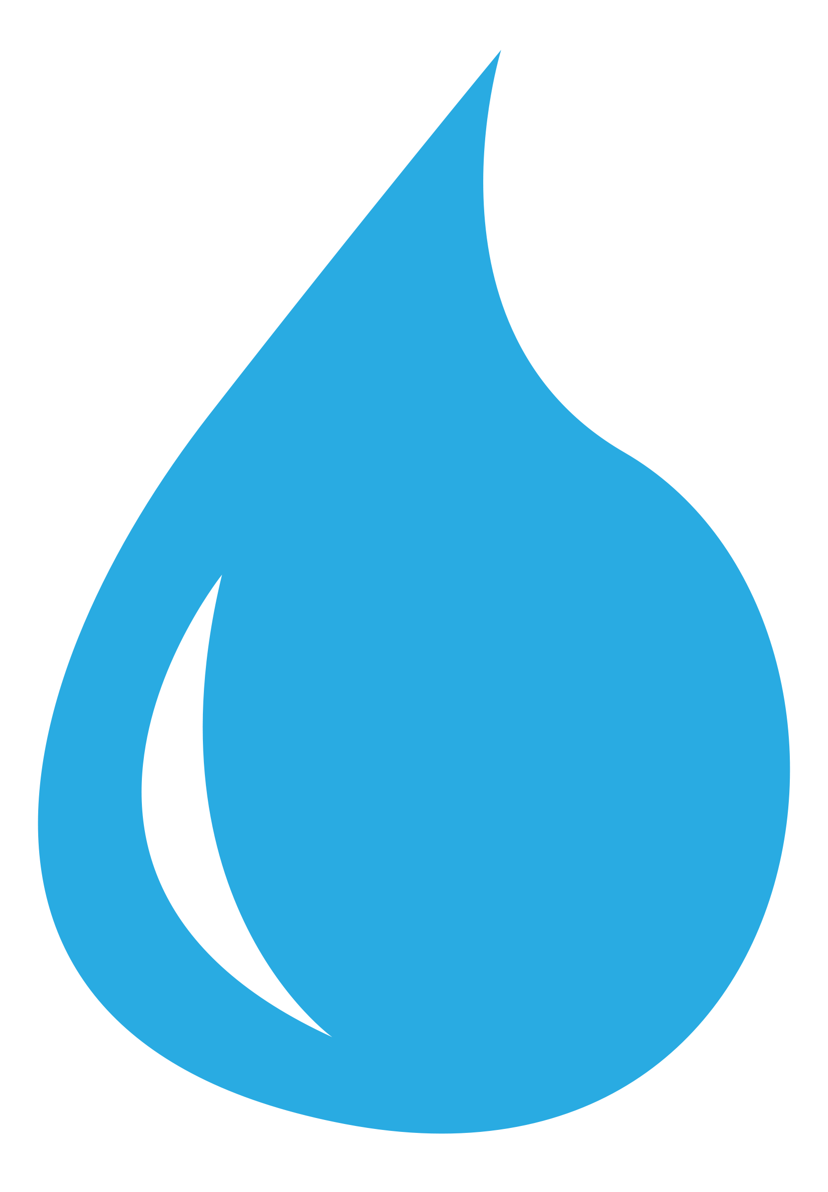 Water Drop Icon Symbol image #46388