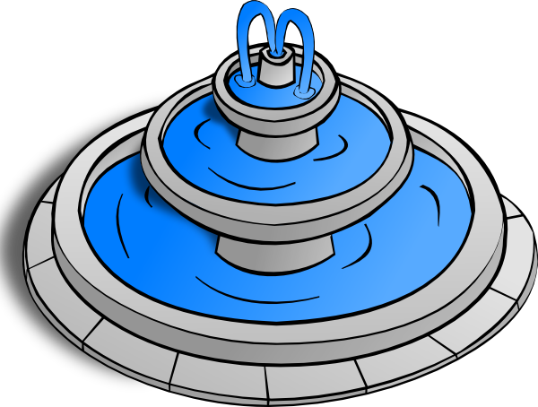 Free Water Fountain Icon Image