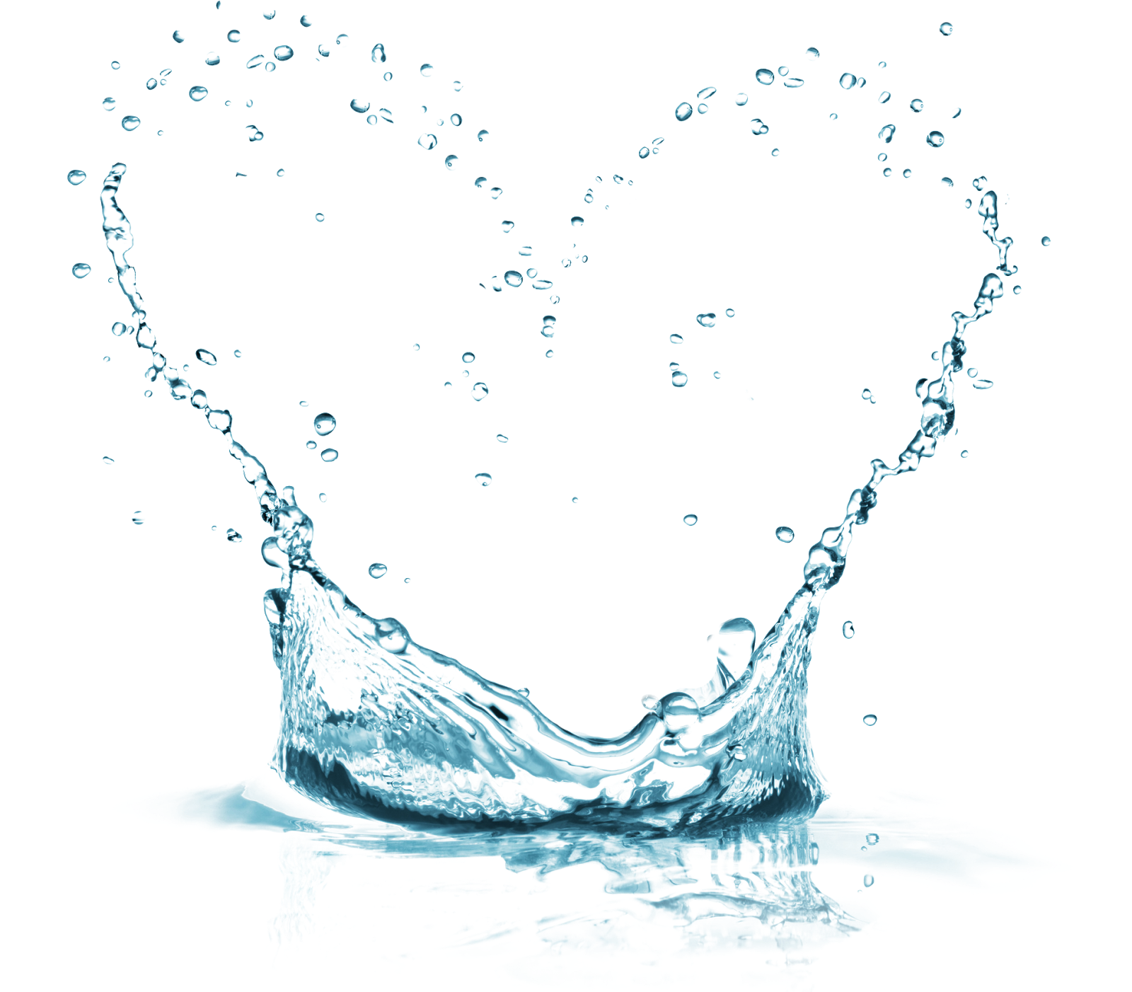 Water Png Water splash heart