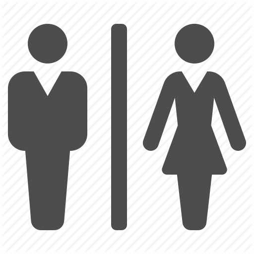 Wc Toilet Man And Woman Icon image 14029  Bathroom bowl toilet wc icon  14003 Free. Bathroom Icon