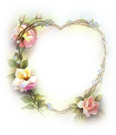 wedding frame heart png