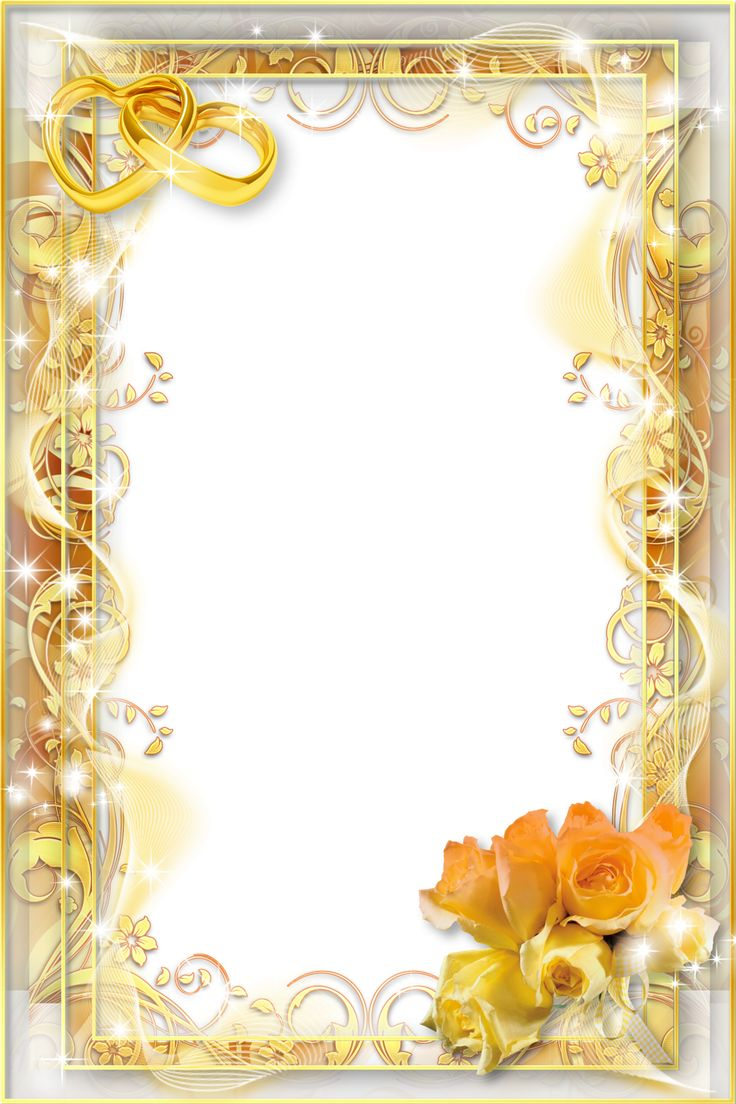 Png Wedding Frame Download High-quality image #35193
