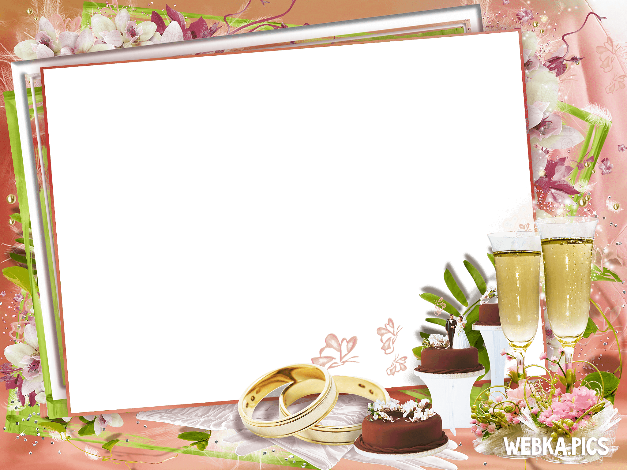 PNG Picture Wedding Frame