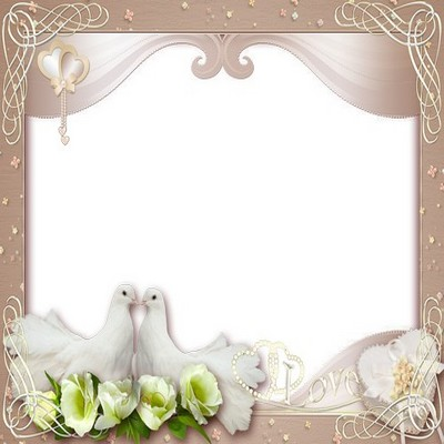 Clipart Wedding Frame Png Best #35184 - Free Icons and PNG Backgrounds