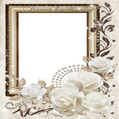 Wedding Transparent Photo Frame