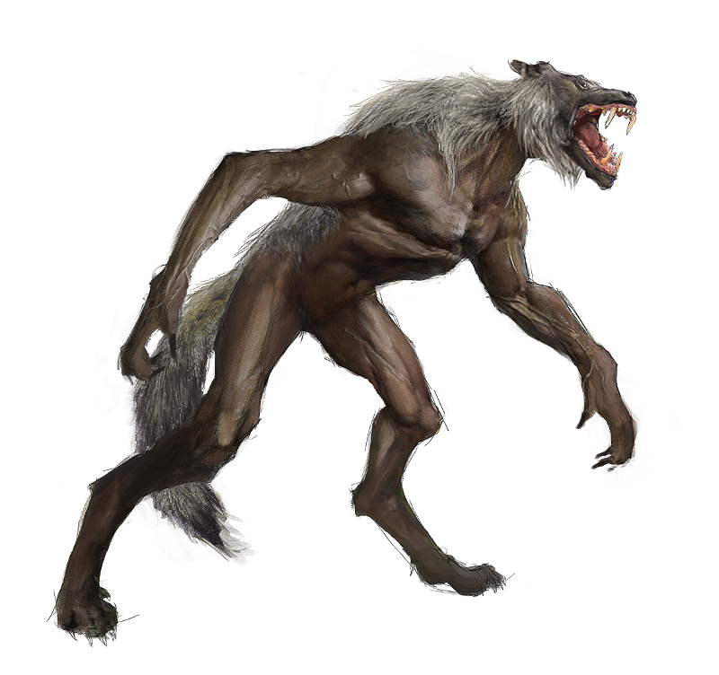 Werewolf PNG Photo