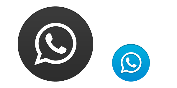 Whatsapp Icon Vector image #3956