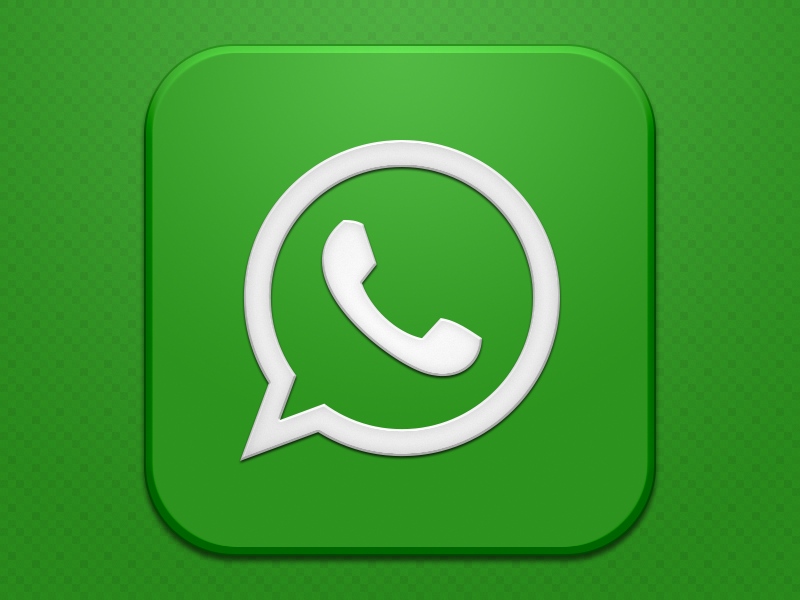 Whatsapp Vector Icon image #3938