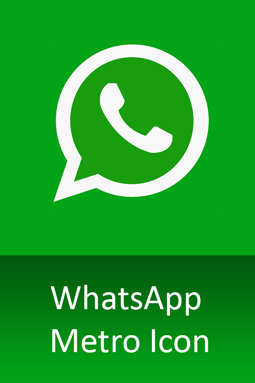 WhatsApp Metro Icon image #3951