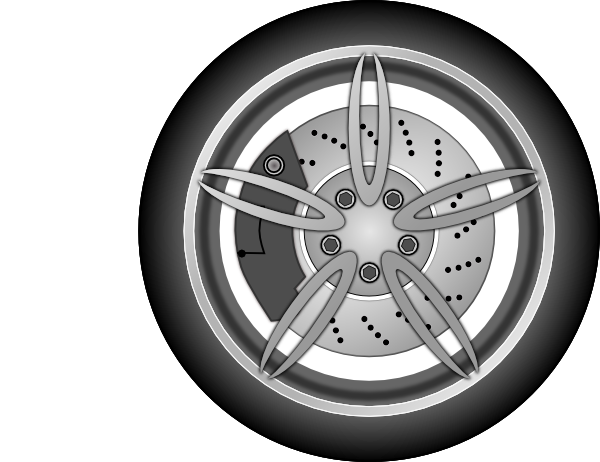 Wheel 1 Clip download car tire PNG images