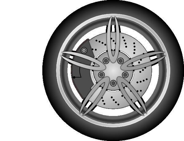 Wheel 1 Clip Art