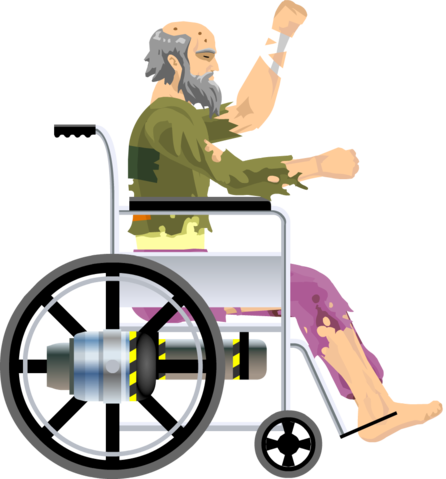 Wheelchair People Png image #40987