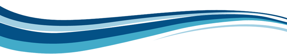 White And Blue Wave Lines Transparent Background