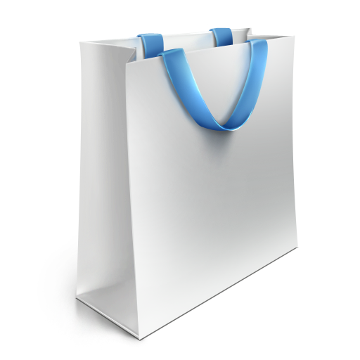 White Bag Icon image #10483