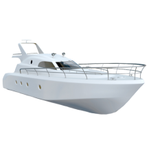 White Boat Transparent Background Png image #41388