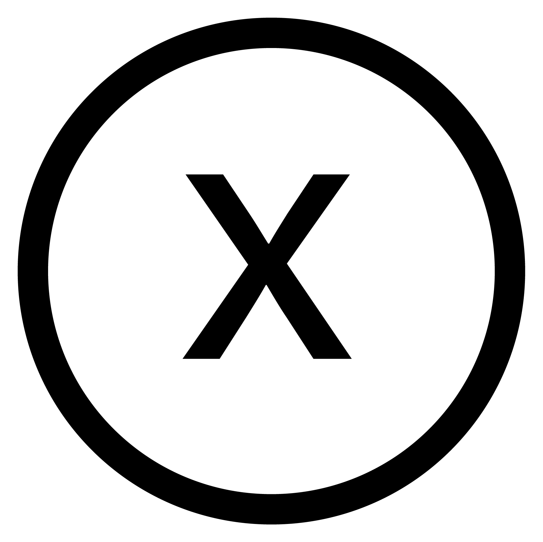 white close button png
