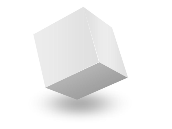 White Cube 3d Box Png Image image #47040