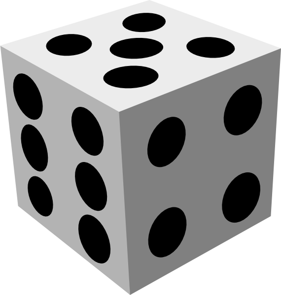 White Dice Png Png: Small · Medium · Large image #41787