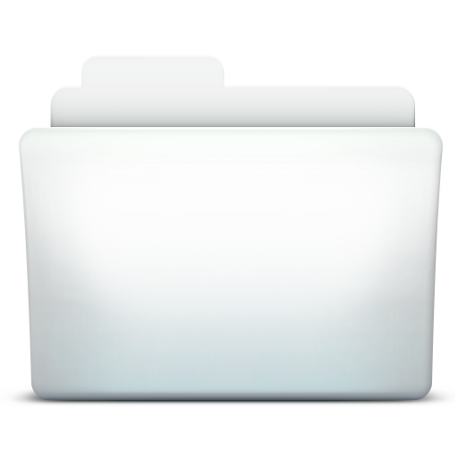 White Folder Directory Icon Png image #12381