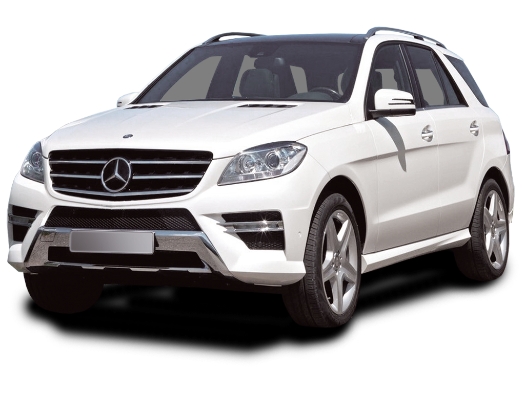 White Mercedes Car Png image #39054