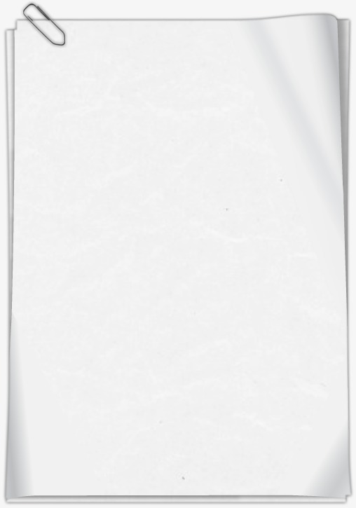 White Plain Paper Notepad And Transparent Pictures image #48271