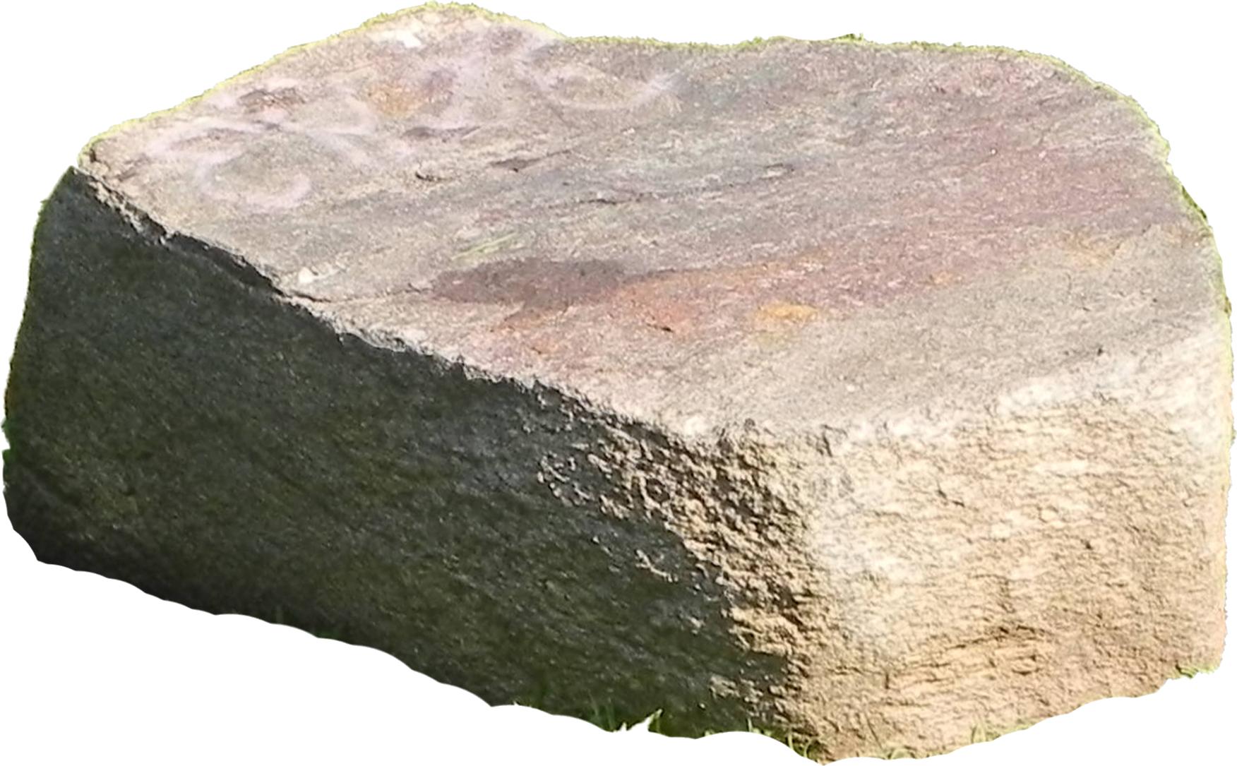 White Rock limestone transparent background